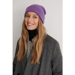 Recyclé Bonnet Basique - Purple - NA-KD Accessories - Modalova
