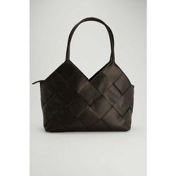 Grand sac cabas tissé - Black - NA-KD Accessories - Modalova