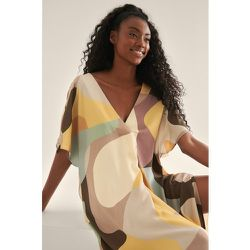 Robe Mi-Longue Caftan - Multicolor - NA-KD Trend - Modalova