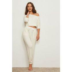 Pantalon de survêtement - Offwhite - Pamela x NA-KD Reborn - Modalova