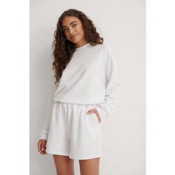 Short Élastique Taille Haute - White - Marije Zuurveld x NA-KD - Modalova