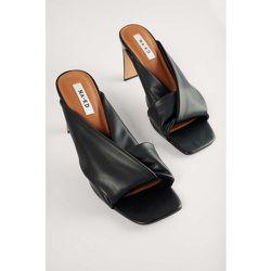 Sandales À Talons Et Brides Nouées - Black - NA-KD Shoes - Modalova