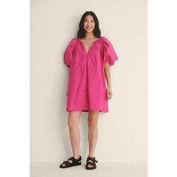 Biologique Robe Coton - Pink - NA-KD Trend - Modalova