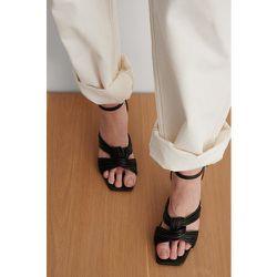 Multistrap Knot Heels - Black - NA-KD Shoes - Modalova
