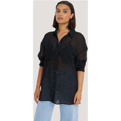 Oversized Structured Pocket Blouse - Black - NA-KD Classic - Modalova