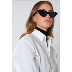 Pointy Cat Eye Sunglasses - Black - NA-KD Accessories - Modalova