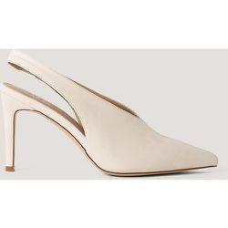 Escarpins Slingback À Couture Détaillée - Beige - NA-KD Shoes - Modalova