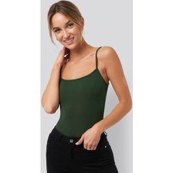 Recyclé Body À Bretelles Fines - Green - Pamela x NA-KD Reborn - Modalova