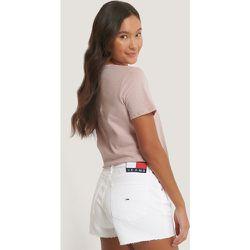 Tommy Jeans Short En Jean - White - Tommy Jeans - Modalova