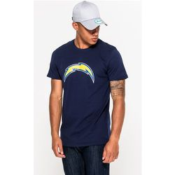T-shirt Los Angeles Chargers bleu marine avec logo de l'équipe - newera - Modalova