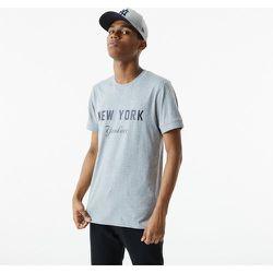 T-shirt MLB Heritage New York Yankees gris - newera - Modalova