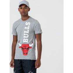 T-shirt Chicago Bulls gris à logo - newera - Modalova