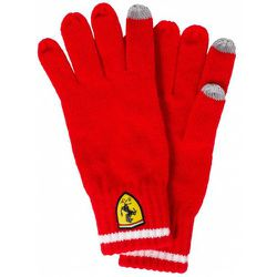 Knitted Gloves Gants d'hiver 130181090-600 - Scuderia Ferrari - Modalova