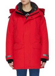 Sherridon' fur trim hooded parka - CANADA GOOSE - Modalova