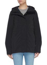 Davie' black label jacket - CANADA GOOSE - Modalova