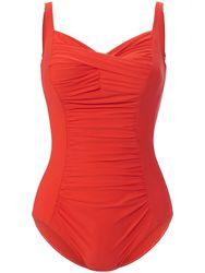 Le maillot bain décolleté V rouge - Anita - Modalova