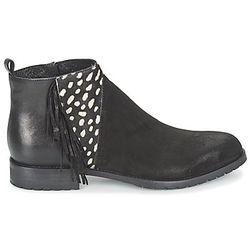 Boots VELOURS NERO PLUME NERO - Meline - Modalova