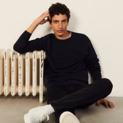 Sweatshirt with Sandro embroidery - Sandro - Modalova