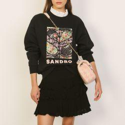 Patchwork sweatshirt - Sandro - Modalova