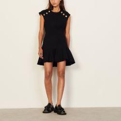 Short tweed dress - Sandro - Modalova