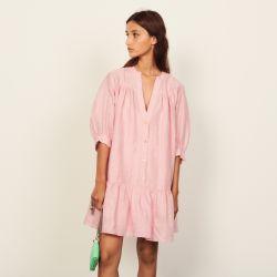 Short flared dress - Sandro - Modalova