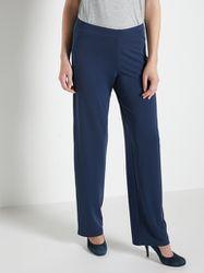 Pantalon entièrement élastiqué en maille - Charmance - Modalova