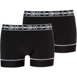 Pack de 2 boxers logotés ceinture élastique - 02CS-8NT-2 - Modalova