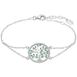 Bracelet Lotus Silver Tree Of Life - Bracelet Argent Arbre De Vie Lotus Silver - LP1895-2-1 - Modalova