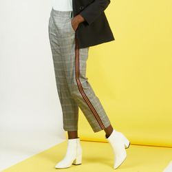 Promo : Pantalon à carreaux Charles - 3S. x Le Vestiaire - Modalova