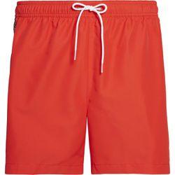 Promo : Short de bain mi-long rouge - Calvin Klein Underwear - Modalova