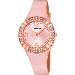 Montre Calypso Montres - Montre Silicone Rose - K5659-2 - Modalova