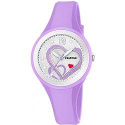 Montre Montres K5751-2 - Montre Silicone Violet - Calypso - Modalova