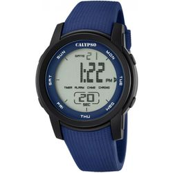 Montre Montres K5698-2 - Montre Silicone Bleu - Calypso - Modalova