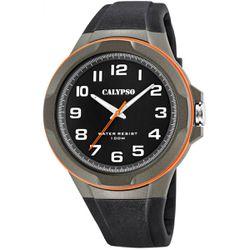 Montre Montres K5781-4 - Montre Silicone Noir - Calypso - Modalova