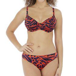 Haut de maillot de bain plongeant armatures rouge - Freya - Freya maillot - Modalova