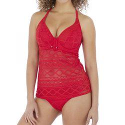 Haut de tankini de bain armatures - Rouge - Freya maillot - Modalova