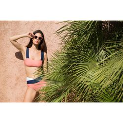 Haut de maillot de bain sans armatures MARINE Rose - Luz Collection - Modalova