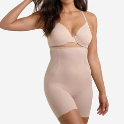 Panty gainant taille haute beige - Miraclesuit - Modalova