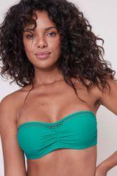 Haut de maillot de bain bandeau Luna Vert aqua - Dessus Dessous_Affiliate - Modalova