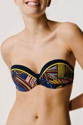 Haut de maillot de bain bandeau coque Ethnic Wax - Dessus Dessous_Affiliate - Modalova