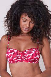 Haut de maillot de bain bandeau Sonia Fushia-tiaré - Dessus Dessous_Affiliate - Modalova