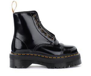 Boots Sinclair Vegan en vernis noir - Dr. Martens - Modalova