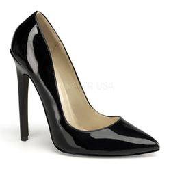 Escarpins noirs vernis - Pointure : 46 - Devious - Modalova