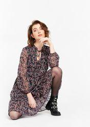 Robe à imprimé fleuri fin - LolaLiza - Modalova