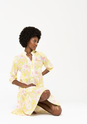 Robe courte à imprimé retro - LolaLiza - Modalova