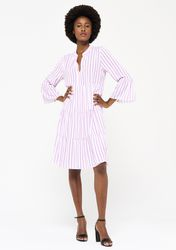 Robe ample à rayures - LolaLiza - Modalova