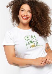 T-shirt avec texte - LolaLiza - Modalova