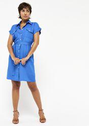 Robe chemise avec ceinture - LolaLiza - Modalova