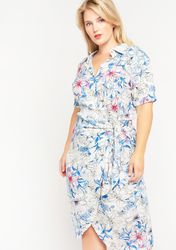 Robe à imprimé floral - LolaLiza - Modalova
