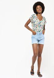 T-shirt à imprimé fleuri - LolaLiza - Modalova